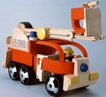 Plan Toys Fire Engine by PlanToys