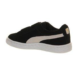 Puma - Zapatillas para niño xxx negro - Black White Ps Velcro Straps