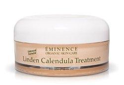 Eminencia orgánica cuidado de la piel. Tilo caléndula crema de tratamiento