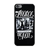 6S 4.7 Phone Case,Pierce The Veil 1 Popular Gifts TPU Case Cover for iPhone 6 & 6S (Black) ()