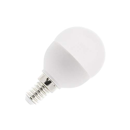 Bombilla LED E14 G45 5W Blanco Neutro 4000K-4500K efectoLED: Amazon.es: Iluminación