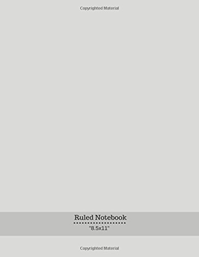 """Download Ruled Noebook: Ruled College Large Exercise Journal Notebook 150 Pages To Draw & Write In Men, Women, Girls, Boys 8.5""""x11"""" 150 Pages (Notebook and Journal) (Volume 2) pdf epub"""