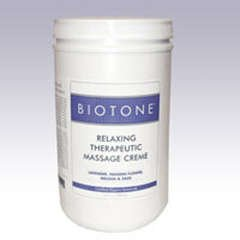 New BIOTONE® Détente massage thérapeutique Creme - 1/2 Gallon