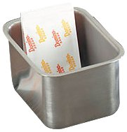 Tablecraft (58BF) Stainless Steel Packet Holder [Set of 12]