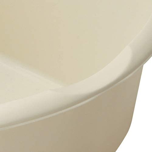 Linen Cream Addis 8 Litre Small Rectangular Bowl