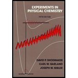 Experiments in Physical Chemistry, Shoemaker, David and Nibler, Joseph, 0070570078