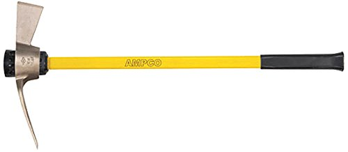 Non-Sparking Non-Magnetic Ampco Safety Tools M-55FG Mattock 36 OAL 3 x 3-7//8 Blade Corrosion Resistant