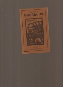 - Praise of Yorkshire Ale by George Meriton (Facsimile, Dec 1975) Paperback