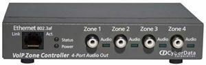 Cyberdata 011171 VOIP 4-PORT ZONE CONTROLLER by Cyberdata