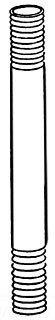 NIP-GALV-3/4XCLOSE Galvanized Steel Rigid Conduit Nipple 3/4 Inch x ()