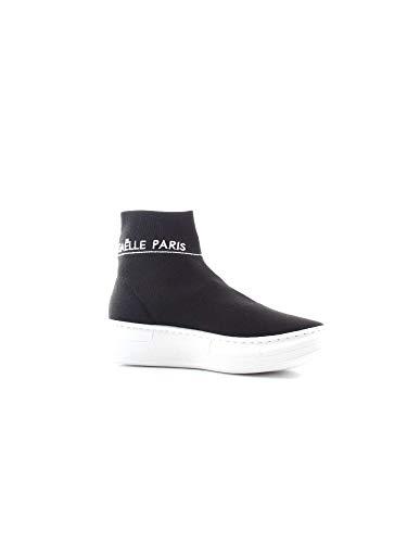 18 Collo Maglia Gbda605 Gaelle Black Sneaker Fw Nero Alto Donna qXwxgZn8