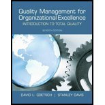 Quality Management for Organizational Excellence Introduction to Total Quality [7th Edition] by Goetsch, David L., Davis, Stanley [Prentice Hall,2012] [Hardcover] 7TH EDITION