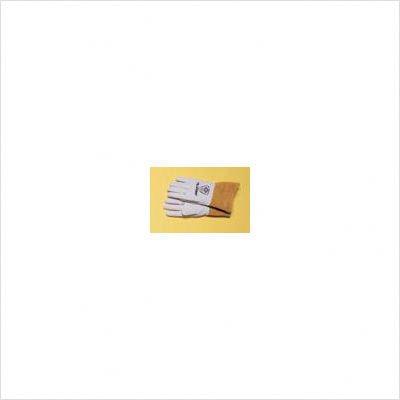 Top Grain Pearl Gray Kidskin Premium Grade TIG Welders Glove With Para-aramid synthetic fiber Stitching, Wing Thumb, 4