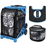 Zuca Sport Bag - Tiger with Lunchbox and Seat Cover (Blue)