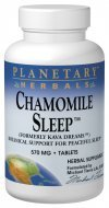 Planetary Herbals Chamomile Sleep Tablets, 120 Count