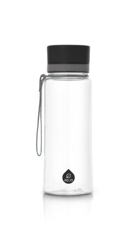 MyEQUA Plain black - Botella (0,6 L, sin BPA)