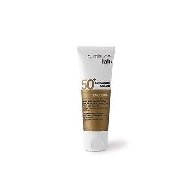 Cumlaude Sunlaude Spf50+ Color Facial Emulsion 50 Ml Sunscreen