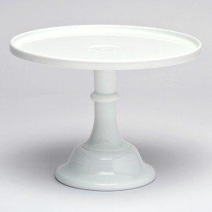 Tortenständer mosser glass tortenständer 30 5 cm weiß amazon de küche haushalt