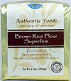- Authentic Foods Superfine Brown Rice Flour - 3lb