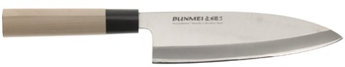 Bunmei 1801/195 - 7 3/5 inch Deba Knife by Global