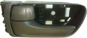 Gray Inside Front Driver - Well Auto INSIDE DOOR HANDLE Front Left(Driver Side); Gray 04-10 Toyota Sienna