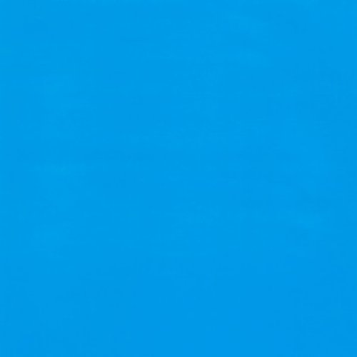 Solid Color Oilcloth, Fabric by The Yard (Medium Blue) ()