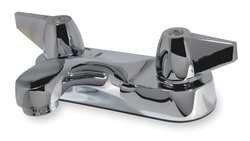 Faucet Lavatory 2h Chrome (Trident 2HYF1 Lavatory Faucet, 2H Wing, Chrome)