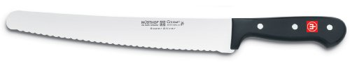 Wusthof Gourmet 10-Inch Super Slicer Wavy-Edge Knife (Serrated Super Slicer)