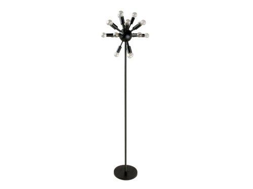 Chandelier Lighting Fixture Floor Lamp Cosmos Black