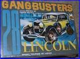 #6173 MPC Gangbusters 28 Lincoln Sport Touring by Locke 1/25 Scale Plastic Model Kit,Needs Assembly by MPC