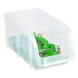 Innovative Storage Designs U0026quot;Miniu0026quot; Stacking Bin, Large, 5u0026quot;H X