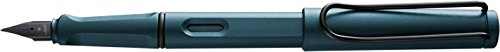 Lamy Safari Petrol Blue Fountain Pen Fine F - 2017 Special Edition