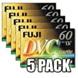 Fujifilm DVC 60 Video cassette - Confezione da 5