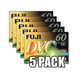 Fuji Magnetics DVC 60 DV Mini Digital Video, 5er Pack