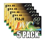 Fuji Magnetics DVC 60 Blank Tapes 261834