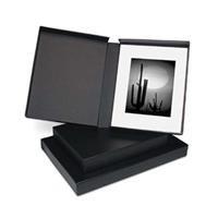 Print File Black Clamshell Portfolio Print Box 11.25x14.25x2