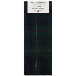Stewart Hunting Modern Tartan (Stewart Hunting Modern Tartan Clan Fashion Scarf 100% Lambswool Made in Scotland)