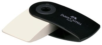Price comparison product image Faber Castell Mini Sleeve Eraser Pvc-free Black
