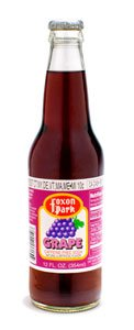 Foxon Park, Grape Soda, 12 oz. Bottle (Case of 12) made in Connecticut
