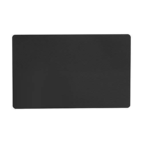 SCHOME 100PCS Black Metal Business Cards Blanks for Customer Laser Engraving DIY Gift Cards by SCHOME