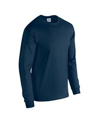 Gildan G540 5.3 Oz. Heavy Cotton Long-Sleeve T-Shirt - Navy - L ()