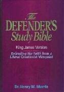 KJV - Defender's Study Bible by Dr. Henry Morris, (Leather Bound Box)