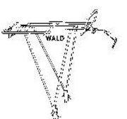 Wald Rear Bike Rack, Black ()