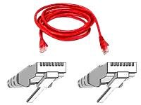 Belkin 25 ft. Networking Cable (A3L850-25REDS-C) -