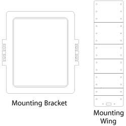 Amazon Com Nht Iwb In Wall Speaker Mounting Kit For Iw1