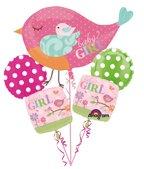Tweet Baby Girl Balloon ()