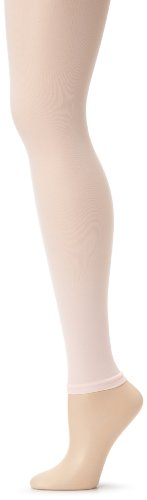 Danskin Women's Footless Tight,Theatrical Pink,A/B - Wear Pink Tights