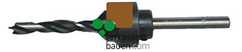 K/&R Bohrer mit Senker 6mm f/ür Terrassenschrauben