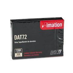 1/8 quot; DAT 72 Cartridge, 170m, 36GB Native/72GB Compressed Capacity