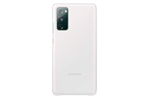 SAMSUNG Galaxy S20 Fe Clear View Cover Case - White